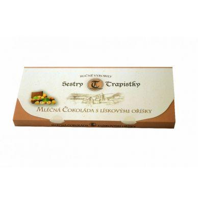 Mléčná čokoláda s lískovými oříšky 250 g